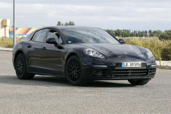 Erwischt: Erlkönig Porsche Panamera - neue Bilder