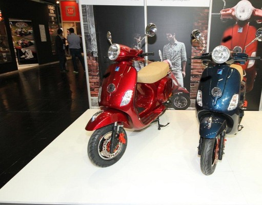 Intermot 2014: Vespa-Plagiate aus China