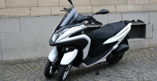 Test Yamaha Tricity 125: Schmalspur-Spaß für die Stadt