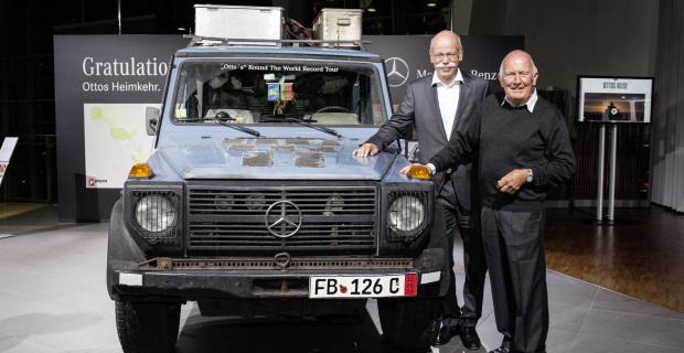 Mit der Mercedes-G-Klasse ins Guinness Buch