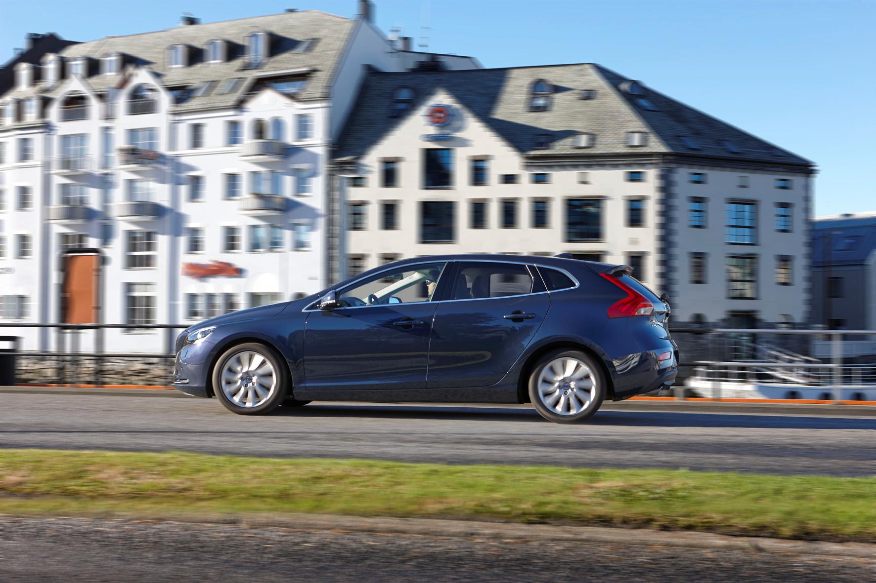 Neuer Diesel im Volvo V40: Sprinten ohne Reue