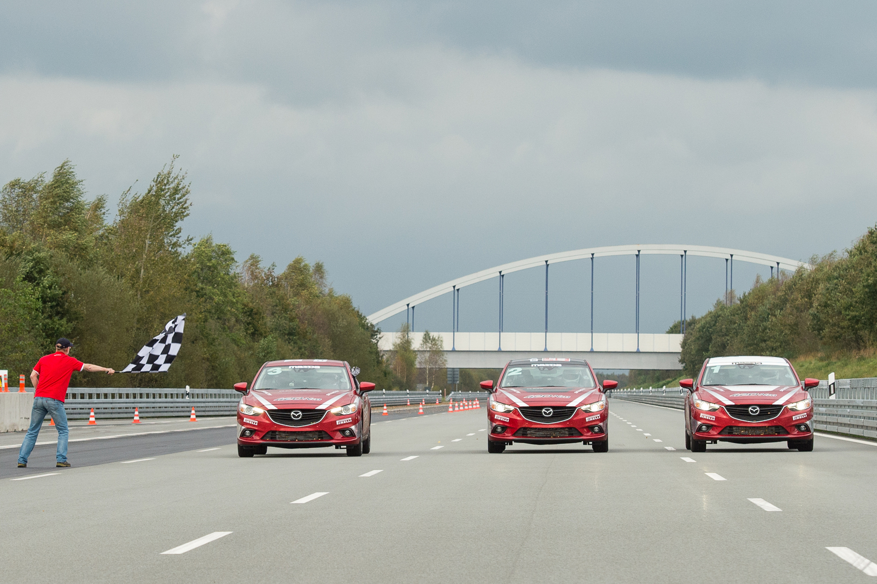 Mazda: 20 Weltrekorde in 24 Stunden