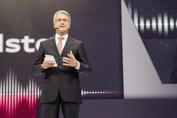 Audi-Chef Stadler kritisiert noch schärfere Grenzwerte