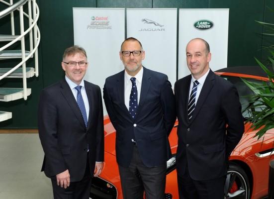 Jaguar Land Rover und Castrol intensivieren Zusammenarbeit