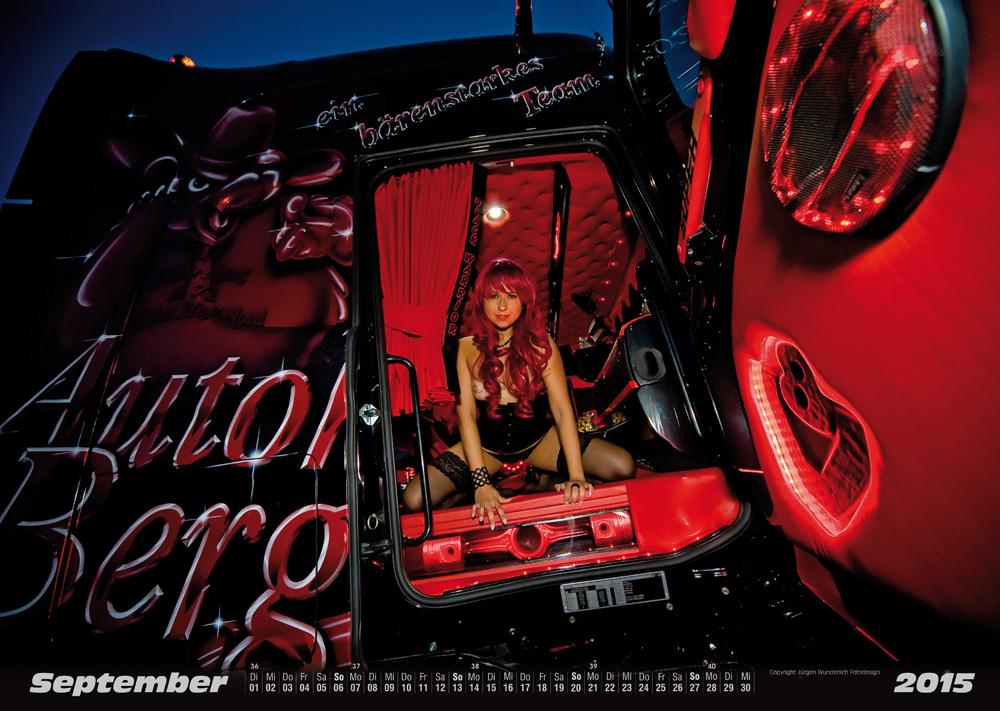Erotischer LKW-Kalender 2015 (Scania)