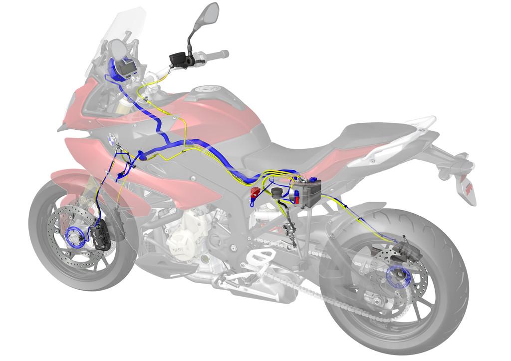 Nun ist auch Contis Motorrad-ABS kurvensicher