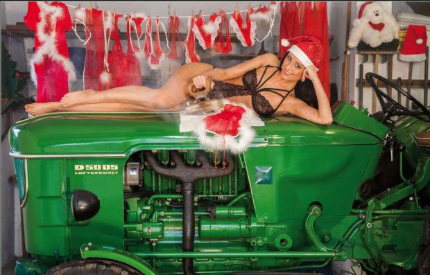 Erotischer schlepperKALENDER 2015 - Heiße Traktoren