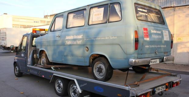 Deutsch-türkische Verbundenheit: Ford Transit wird im Werk restauriert