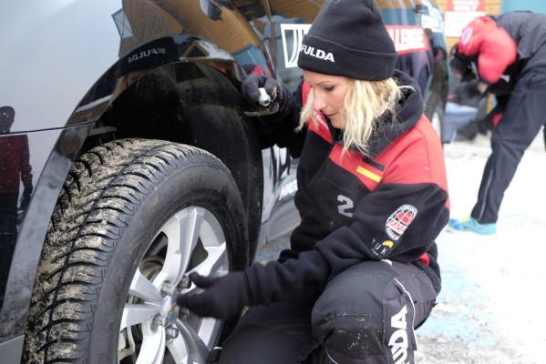 Fulda Challenge 2014: Team Österreich legt am ersten Tag vor