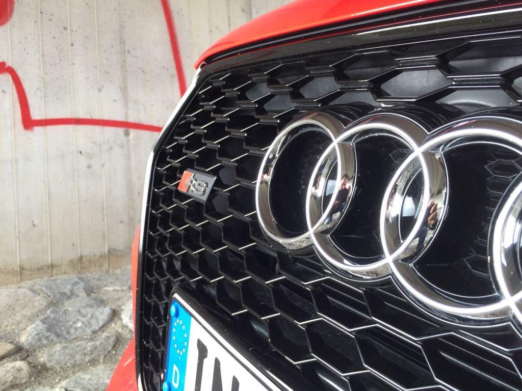Test Audi RSQ3 - Der Enkeltrick