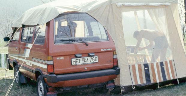 Libero E10 mit Vorzelt, Modelljahr 1985