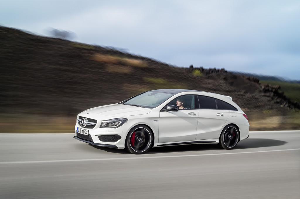 Mercedes-Benz CLA Shooting Brake: Schöner laden