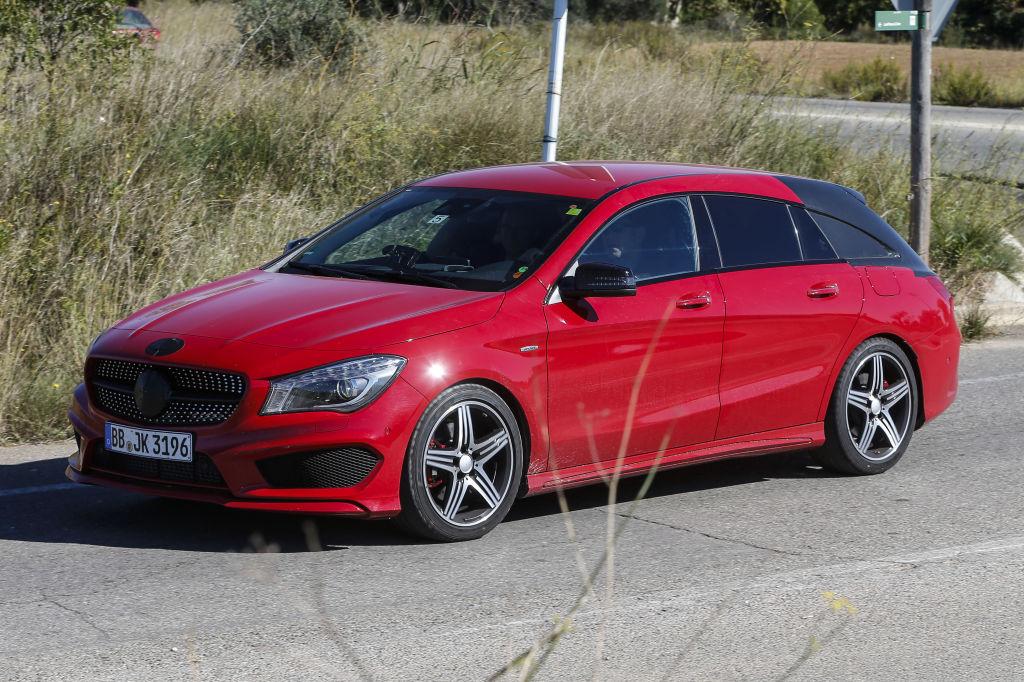 Erwischt: Erlkönig Mercedes-Benz GLA Shooting Break