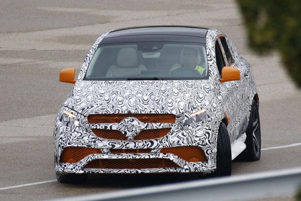 Erwischt: Erlkönig Mercedes-Benz GLE Coupé