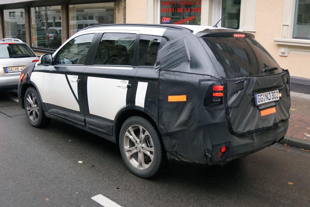 Erwischt: Erlkönig Mitsubishi Outlander