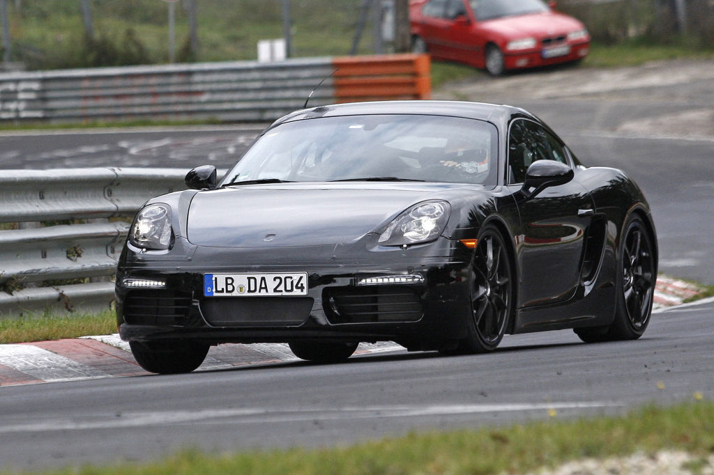 Porsche Cayman Facelift Erlkönig