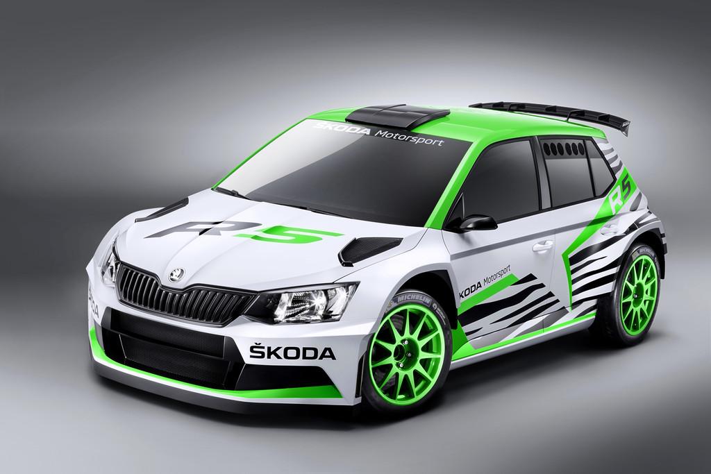 Skoda bringt Fabia R 5 Concept nach Essen
