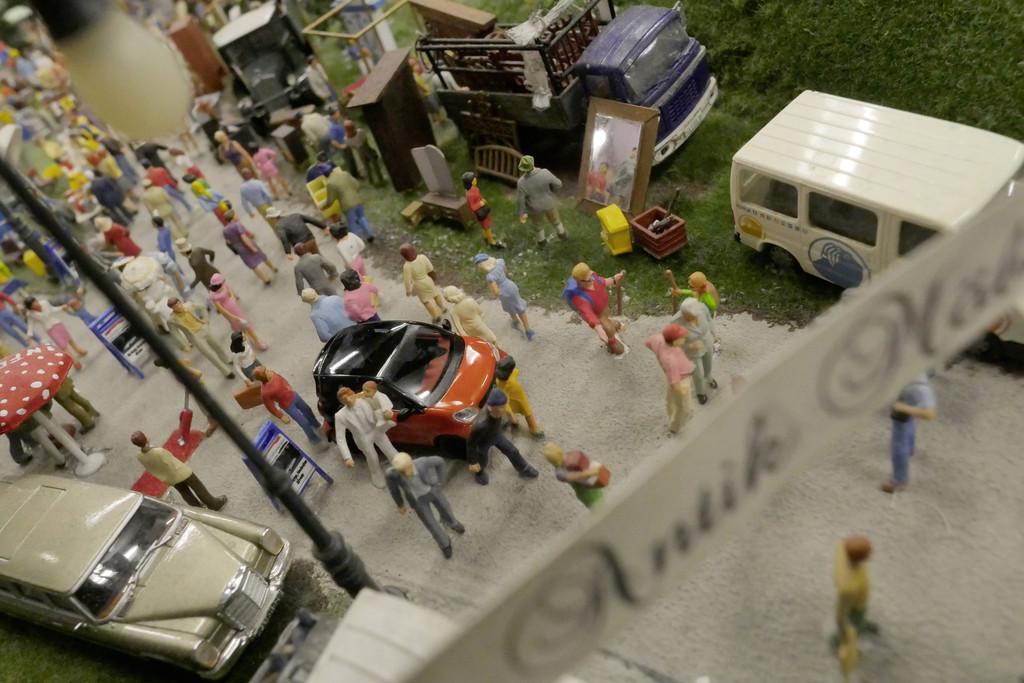 Smart-Modellwechsel im Miniatur-Wunderland