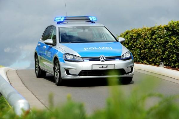Volkswagen E-Golf für Helgoländer Polizei