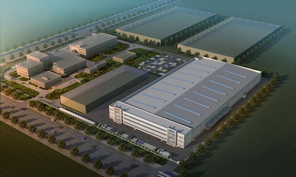 Werk von Bosch Mahle Turbo Systems in Shanghai