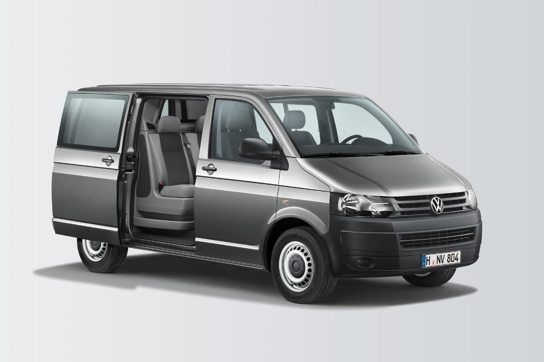 VW Transporter als Crossover