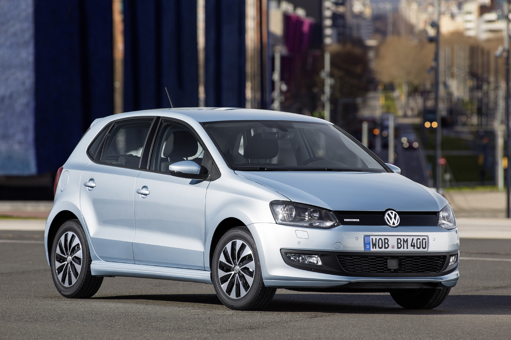 Erster VW-Polo BlueMotion mit TSI-Technologie