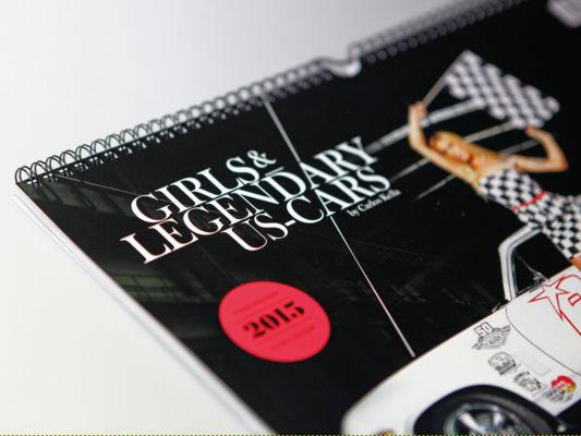 auto.de-Weihnachtsgewinnspiel: Girls & Legendary US-Cars Wochenkalender 2015