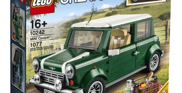 auto.de-Weihnachtsgewinnspiel: LEGO MINI Cooper - Kultwagen für das Wohnzimmer