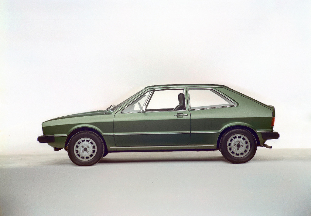 Auch die Form des ersten VW Scirocco stammte von I
