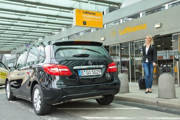 Car2go black in Frankfurt