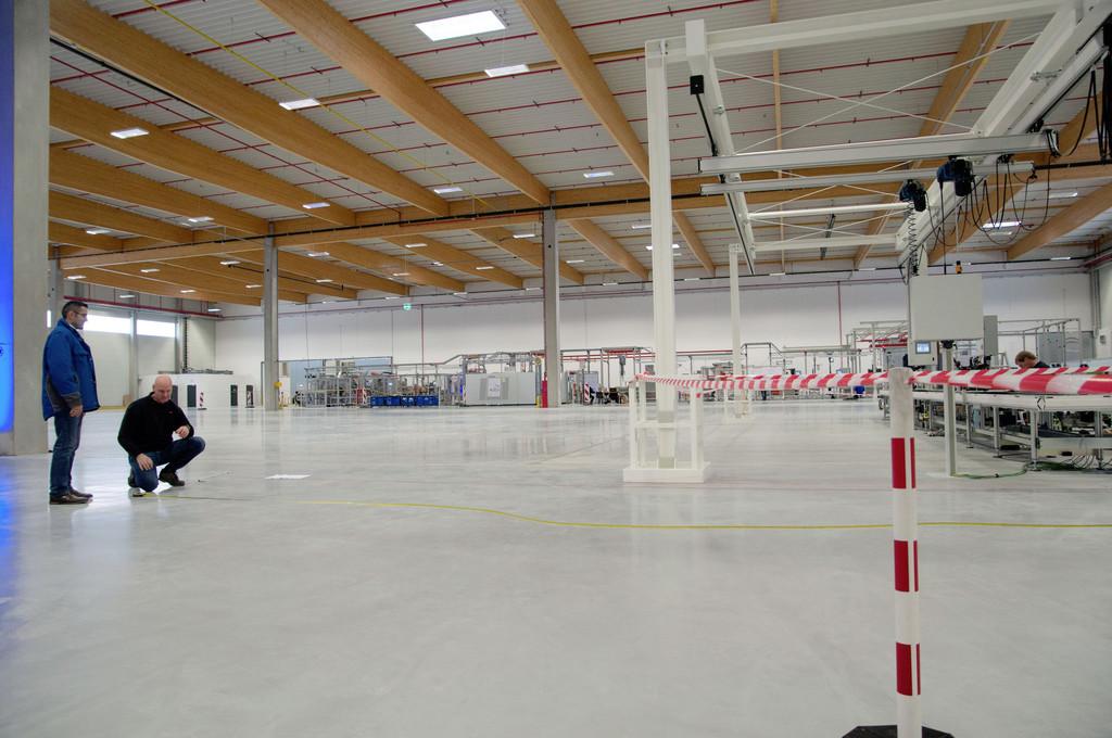 Das VW-Werk Braunschweig hat in Isenbüttel eine neue Montagehalle eröffnet.