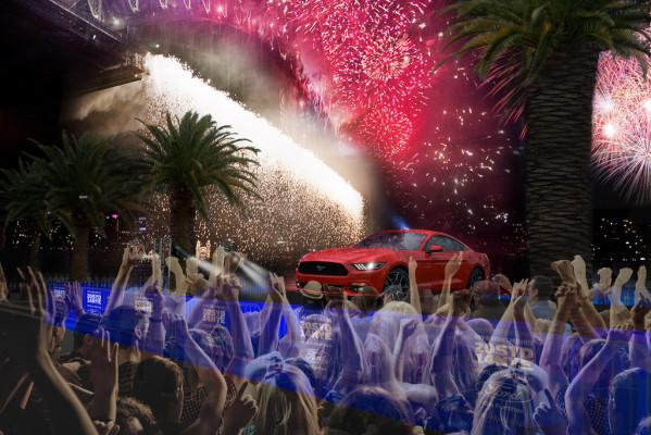 Ford Mustang bekommt großen Auftritt in Sydney