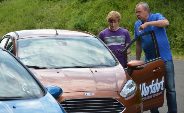 """Ford-Sicherheitstraining """"Vorfahrt für Deine Zu"""