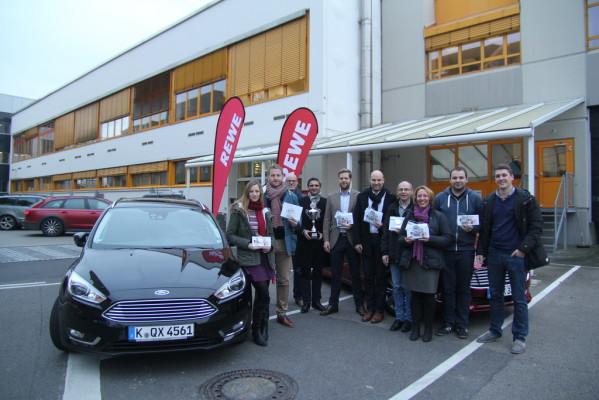 Ford unterstützt Rewe-Spritsparmeisterschaft