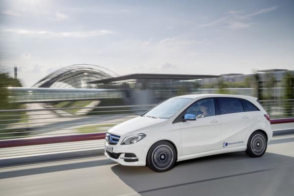 Umweltzertifikat für Mercedes-Benz B-Klasse Electric Drive
