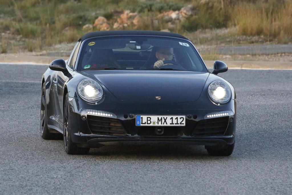 Erwischt: Erlkönig Porscher 911 Targa Facelift