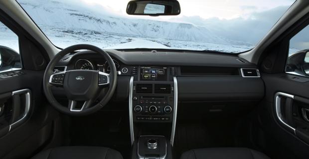 Reykjavik/Island - Der Land Rover Discovery Sport