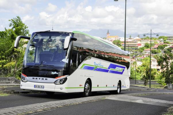 Setra Comfort-Class 500 fährt auf Martinique