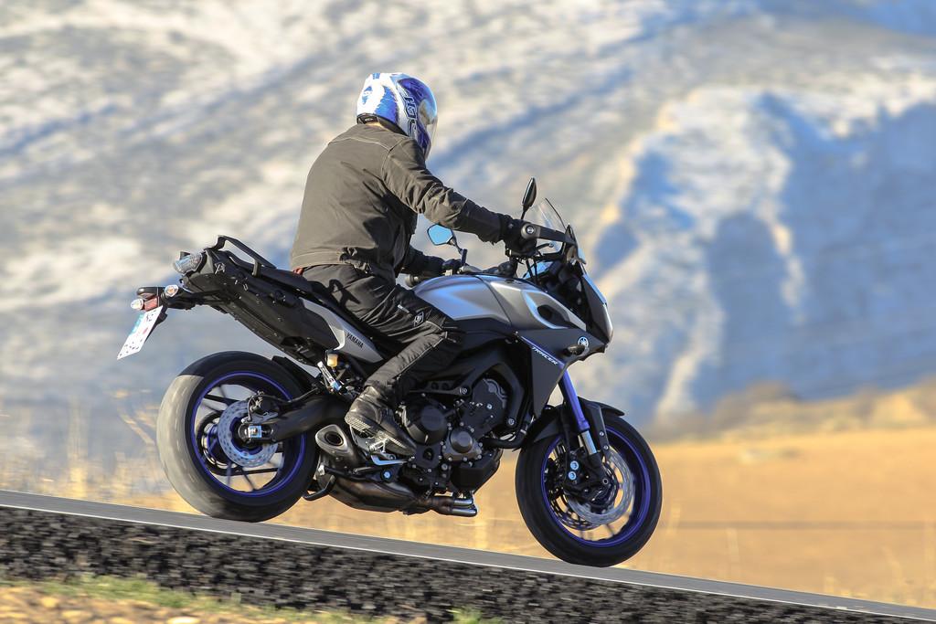 Erste FAhrt auf der Yamaha MT-09 Tracer: Einsatzspektrum erweitert