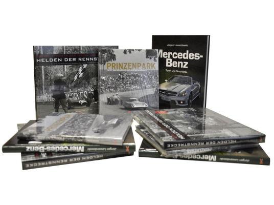 auto.de-Weihnachtsgewinnspiel: Rasante Bücher von Delius Klasing