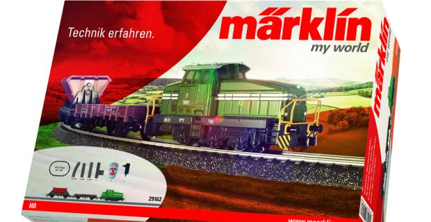 """auto.de-Weihnachtsgewinnspiel: Märklin Starterset """"my world"""""""