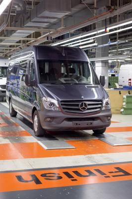 Daimler-Werk in Düsseldorf wird weltweites Kompetenzzentrum für Sprinter