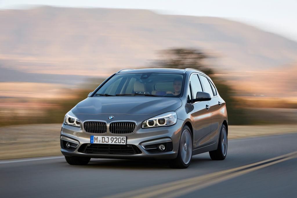 Der BMW 2er Gran Active Tourer für 2015