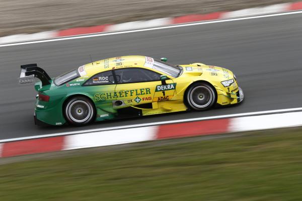 Die Rennfahrer im Deutschen Tourenwagen Masters wie Audi-Pilot Mike Rockenfeller (Foto) haben in der kommenden Saison die doppelte Arbeit: Dann wird es nicht nur am Sonntag, sondern auch am Samstag ein Rennen geben.