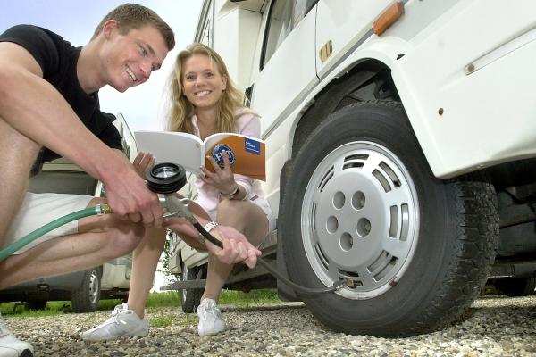 Reifendruck-Kontrollsysteme nur für wenige Wohnmobile Pflicht