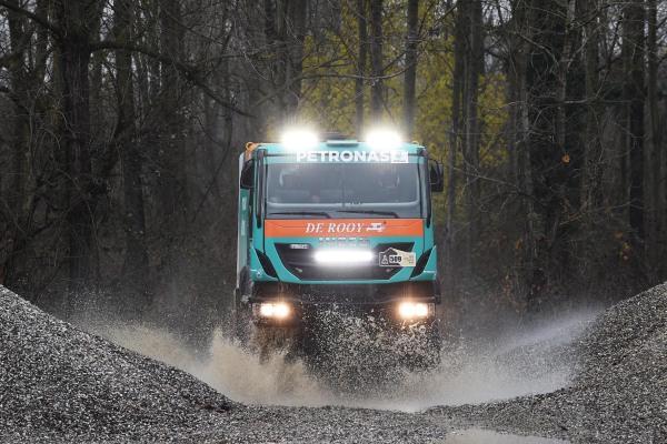 Petronas und Iveco: Vollgas bei der Rallye Dakar