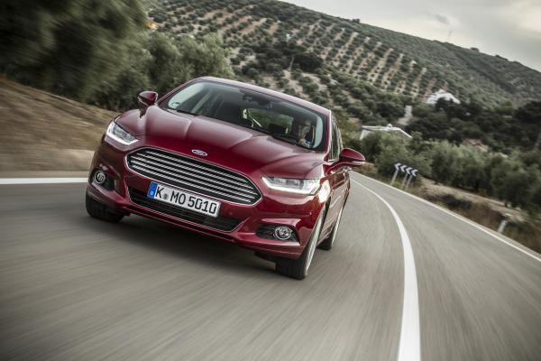 Einer der Hoffnungsträger von Autobauer Ford im kommenden Jahr: der neue Mondeo.
