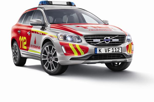 Volvo: Schnell wie die Feuerwehr