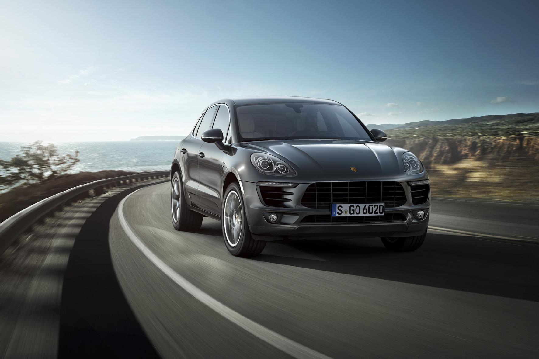 Porsche-Modelle wie der neue SUV Macan (Foto) sind im November beim deutschen Kunden sehr gefragt.