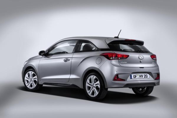 Das Hyundai i20 Coupe feiert 2015 seine Weltpremiere.
